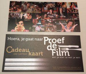 cadeaukaart Proef de Film