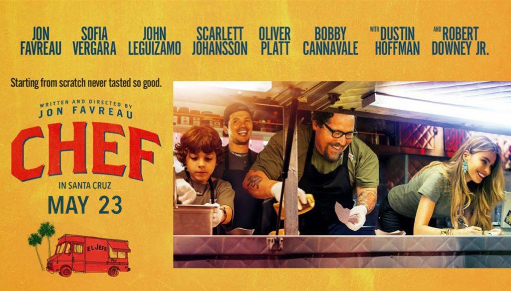 Proef de Film vertoont Chef